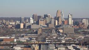 Cincinnati, Ohio W centrum widok Podczas popołudnia zbiory wideo