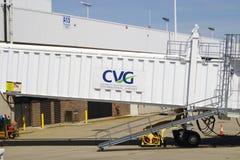 Cincinnati, Północny Kentucky lotnisko międzynarodowe/(CVG) Fotografia Royalty Free
