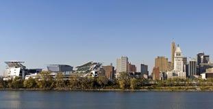 Cincinnati Riverfront Stock Afbeeldingen