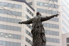 Cincinnati's Fountain Square royalty free stock photography