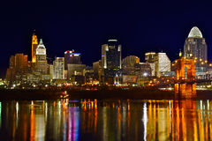 Cincinnati Skyline 6675 Stock Image