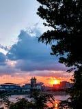 Cincinnati Skyline royalty free stock images