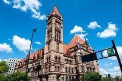 Cincinnati stadshus Fotografering för Bildbyråer