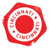 Cincinnati stamp rubber grunge Royalty Free Stock Photo