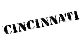 Cincinnati stamp rubber grunge Royalty Free Stock Photography