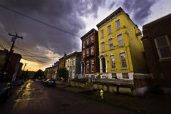 Cincinnati-Sturmwolken Lizenzfreie Stockfotos