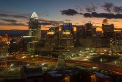 Cincinnati, van Onderstel Adams royalty-vrije stock afbeeldingen