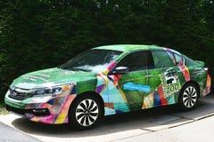 Cincinnati zoo Honda samochód obrazy royalty free