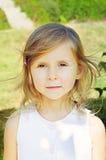 Cinco años de la muchacha Imagenes de archivo