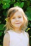 Cinco años de la muchacha Fotografía de archivo libre de regalías