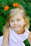 Cinco años de la muchacha Imagen de archivo libre de regalías