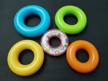 Cinco anéis Imagens de Stock