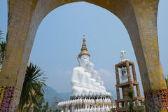 Cinco a Buda Phetchabun Tailândia Foto de Stock