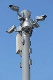 Cinco câmeras Imagens de Stock