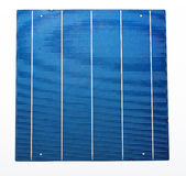 Cinco células solares da barra Fotos de Stock Royalty Free