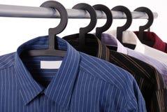 Cinco camisas 2 Fotografia de Stock Royalty Free