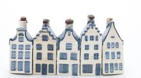 Cinco casas holandesas de China Imágenes de archivo libres de regalías