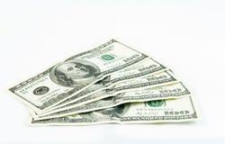 Cinco cem dólares Foto de Stock