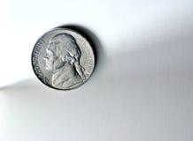 Cinco centavos Fotografia de Stock