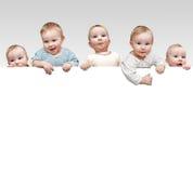 Cinco crianças Fotografia de Stock Royalty Free