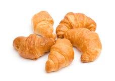 Cinco croissants Foto de Stock