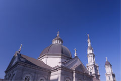 Cinco cruces de la catedral fotografía de archivo
