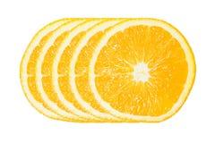 Cinco de la rebanada anaranjada Fotos de archivo libres de regalías