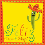 Cinco De Mayo! Stockbild