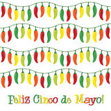 Cinco De Mayo! Imagem de Stock Royalty Free