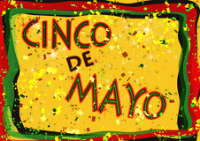 Cinco de Mayo Obraz Royalty Free