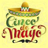 cinco de Mayo Fotografia Royalty Free