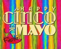 Cinco DE Mayo vector illustratie