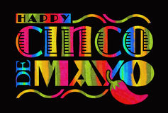 cinco de mayo illustration stock