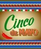 Cinco De Mayo Imagem de Stock Royalty Free