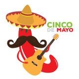 Cinco DE Mayo Stock Foto