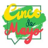 Cinco De Mayo Banner Image libre de droits