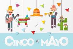 Cinco de Mayo Banner vector illustration