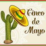 Cinco De Mayo Card Stock Photos