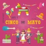 Cinco de Mayo royalty free illustration