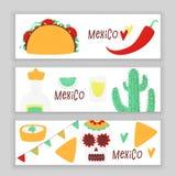Cinco de mayo. Mexican vector design banner concept with taco royalty free illustration