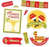 Cinco de Mayo Clipart Image stock