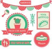 Cinco de Mayo Clipart ilustración del vector