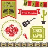 Cinco de Mayo Clipart Stock Image