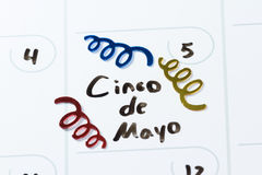 Cinco de mayo Stock Photography