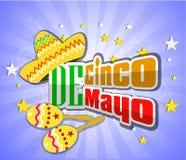 Cinco De Mayo design element Vector illustration Royalty Free Stock Image