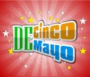 Cinco De Mayo design element Vector illustration Stock Photos
