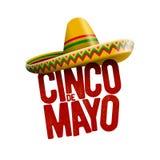 Cinco de Mayo design. Cinco de Mayo holiday poster design. Vector illustration