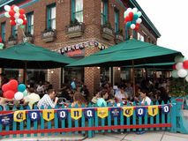 Cinco de Mayo Diners stock photo