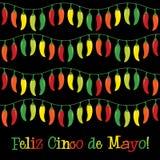 Cinco De Mayo!. Feliz Cinco de Mayo (Happy 5th of May) card in format
