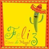 Cinco De Mayo!. Feliz Cinco de Mayo (Happy 5th of May) card in vector format